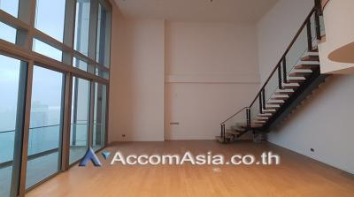 เช่าคอนโดวงเวียนใหญ่ เจริญนคร : Duplex | Magnolias Waterfront Residences ICONSIAM Condominium 3 Bedroom For Rent BTS Krung Thon Buri in Charoen Nakorn Bangkok