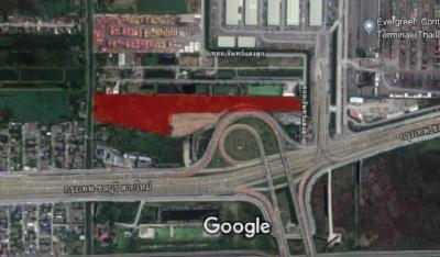 For SaleLandLadkrabang, Suwannaphum Airport : Sell very cheap !!! Land for sale in Khlong Sam, Lad Krabang near ICD Lat Krabang Ideal to buy for speculative investment !!!