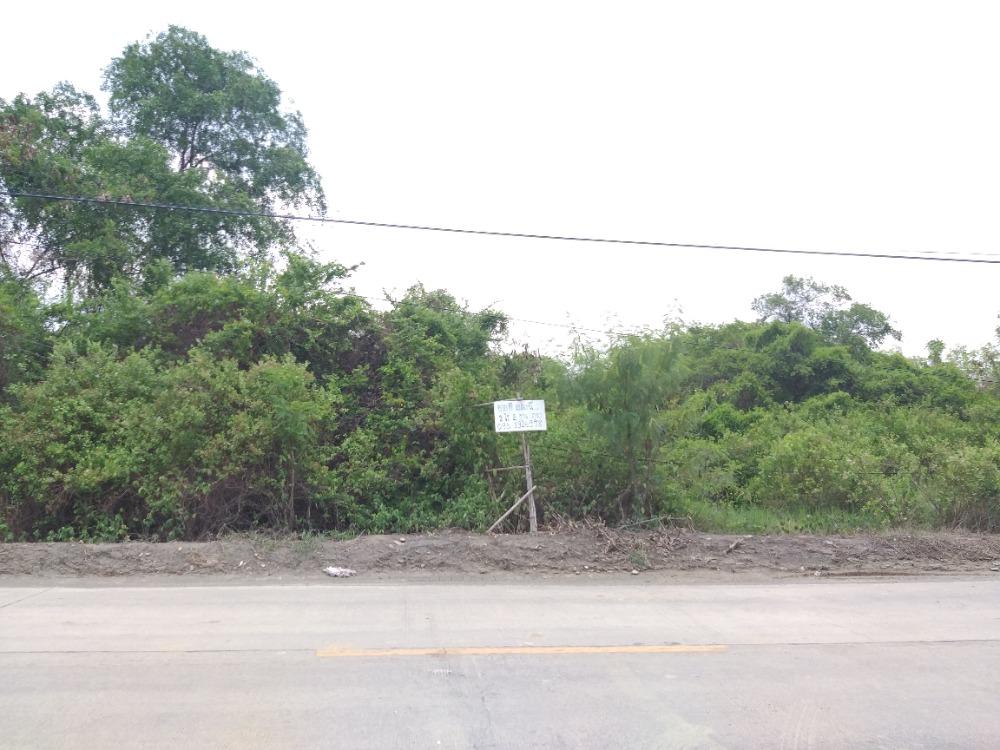 For SaleLandMahachai Samut Sakhon : Land for sale 2 rai 2 ngan (land on the road) Tha Sai Subdistrict, Muang Samut Sakhon
