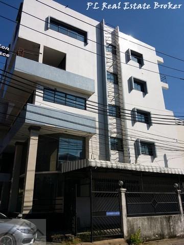 เช่าตึกแถว อาคารพาณิชย์รัชดา ห้วยขวาง : ให้เช่าอาคารพาณิชย์ 5 ชั้นรวมดาดฟ้า (พร้อมชั้นลอย) ถนนสุทธิสาร ใกล้ MRT สุทธิสาร