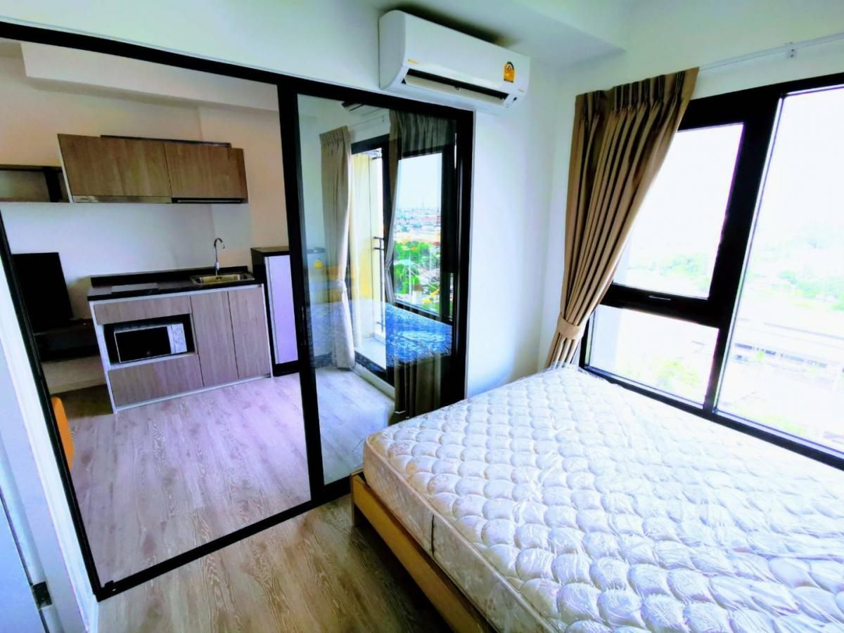 For RentCondoSamrong, Samut Prakan : Very cheap !! Condo at Kensington Sukhumvit - Thepharak, fully furnished, ready to move in !!