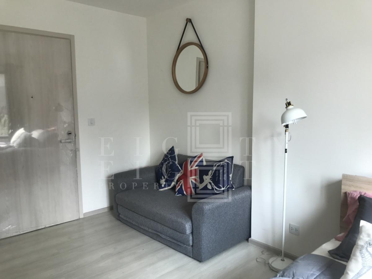 เช่าคอนโดพระราม 9 เพชรบุรีตัดใหม่ : For Rent Life Asoke ( 24 square metres )