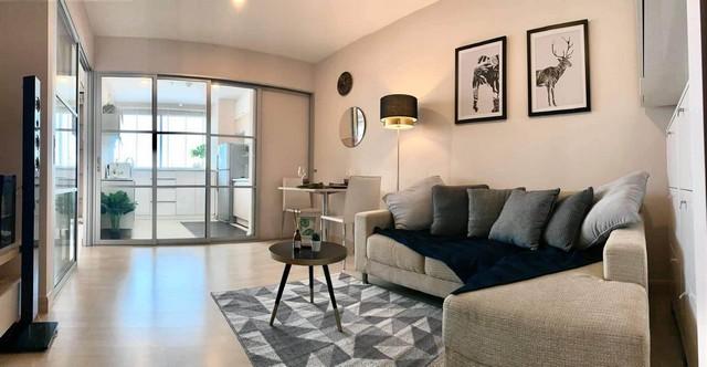 For SaleCondoRatchadapisek, Huaikwang, Suttisan : Urgent sale, good price, Rhythm Ratchada ** 1 bedroom 46.86 sq.m. South, ready to view !!