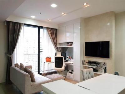 For SaleCondoRatchathewi,Phayathai : For Sale, High Floor, Beautiful decoration, PYNE By Sansiri, near BTS Ratchathewi, 1 bedroom corner room 46 sq.m.