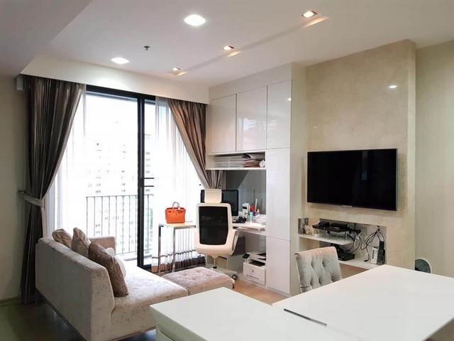 For SaleCondoRatchathewi,Phayathai : For Sale, High Floor, Beautiful decoration, PYNE By Sansiri, near BTS Ratchathewi, 1 bedroom corner room 46 sq.m.