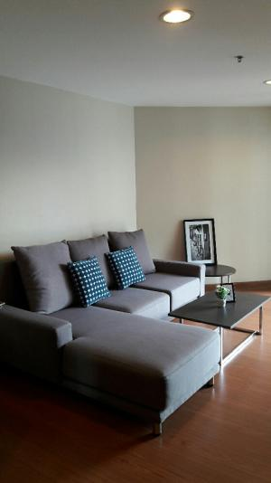 For RentCondoRama9, RCA, Petchaburi : Belle Rama9 for rent 1 bedroom 49 sqm, just 5 minutes to Central Rama9