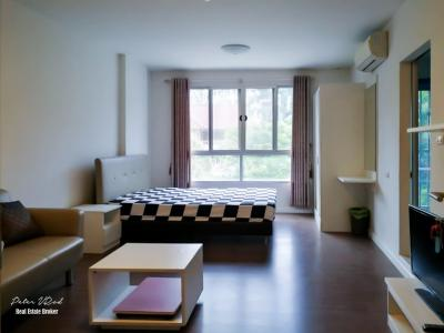 ขายคอนโดเชียงใหม่-เชียงราย : ขายดีคอนโด แคมปัส รีสอร์ท เชียงใหม่ DCondo Campus Resort Chiang mai ชั้น 5, 30 ตรม ขายคอนโดใกล้มหาวิทยาลัยเชียงใหม่ เพียง 2 ล้านบาท เชียงใหม่
