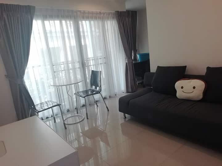 เช่าคอนโดอ่อนนุช อุดมสุข : For Rent! A new modern fully furnished Zenith Place Sukhumvit 42, fully furnished 38.68 sqm