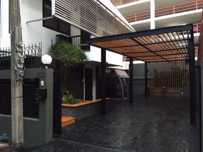 เช่าบ้านสุขุมวิท อโศก ทองหล่อ : ให้เช่า บ้านเดี่ยว 2 ชั้น ซอยเอกมัย สุขุมวิท 63 BTS เอกมัย เหมาะอยู่อาศัย (สามารถทำออฟฟิศได้)
