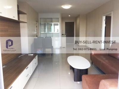 For RentCondoRathburana, Suksawat : Condo for rent near Ivy River, Ratburana, corner room, 2 bedrooms, 95 sqm., High floor 28,000 baht / month
