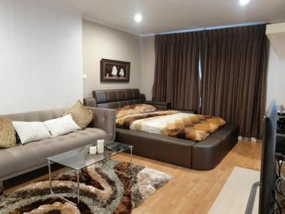 For RentCondoRamkhamhaeng, Hua Mak : For rent, Lumpini Ville Ramkhamhaeng 44, 30 sqm, 9th floor, 9,000 baht