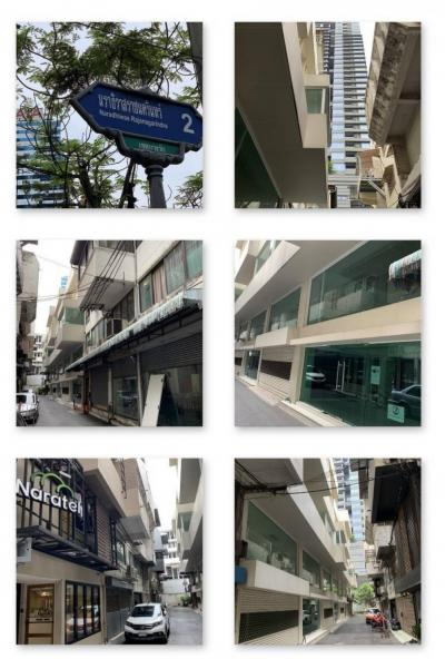 For SaleHome OfficeSathorn, Narathiwat : The best location in the middle of the city !!! Twin Commercial Building Exclusive Silom Home Office 3 sets