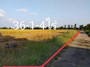 ขายที่ดินนครสวรรค์ : ขายที่ดินใกล้ทางรถไฟ 36 ไร่ อ.ตาคลี นครสวรรค์