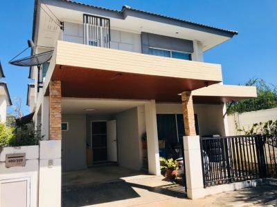For SaleHouseCentral Provinces : Quick sale, 2 storey detached house, behind the waterfront! Phansara Nara 53 Rojana Ayutthaya