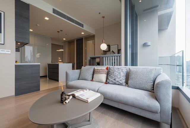 For RentCondoSukhumvit, Asoke, Thonglor : Urgent rent, very beautiful room ++ The ESSE Asoke ** 2 bedrooms, 75 sq.m., fully furnished
