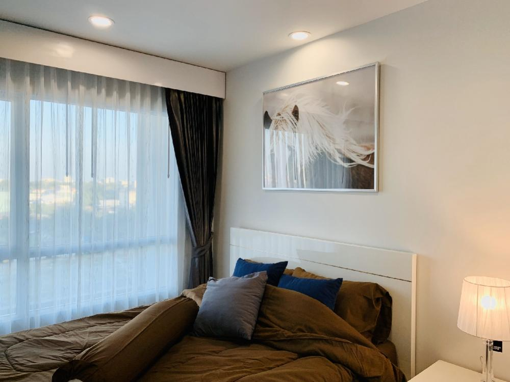 For RentCondoOnnut, Udomsuk : Regent home Sukhumvit 97/1 for rent, very beautiful room. Location of BTS Bangchak, just 900 meters from the alley, can go up the expressway, Sukhumvit 62