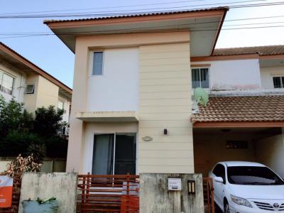 ขายบ้านบางนา แบริ่ง ลาซาล : ขายบ้าน หมู่บ้าน กฤษณา-สุวรรณภูมิ ถนนกิ่งแก้ว ซอยกิ่งแก้ว 14/1บ้านแฝด 2 ชั้น สภาพดีมาก 🏡 ขนาด 37.5 ตารางวา