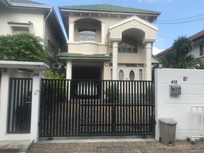 For RentHouseBang Sue, Wong Sawang : House for Rent Soi Prachachun 37 (Close to Wat Samiannaree and Prachanivate 1 Market)