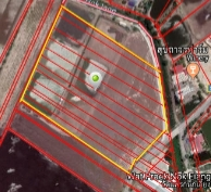 ขายที่ดินฉะเชิงเทรา : ขายที่ดิน เกาะไร่ บ้านโพธิ์ ฉะเชิงเทรา 32 ไร่ๆ  2.6ล้าน/ไร่ แหล่งชุมชนวัด