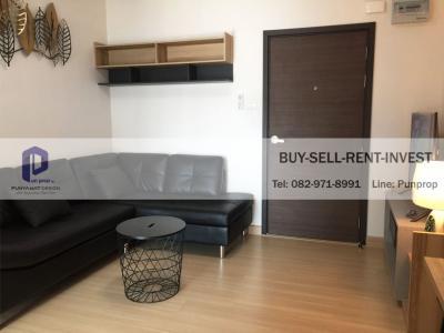 For RentCondoRama9, RCA, Petchaburi : Condo for rent Supalai Veranda Rama 9, near the expressway, 1 bed 37.5 sqm. With furniture 15,000 baht / month