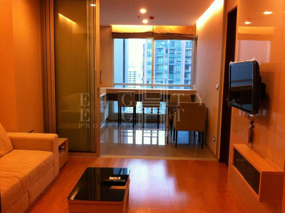 For RentCondoRama9, RCA, Petchaburi : For Rent The Address Asoke  ( 46 square metres )