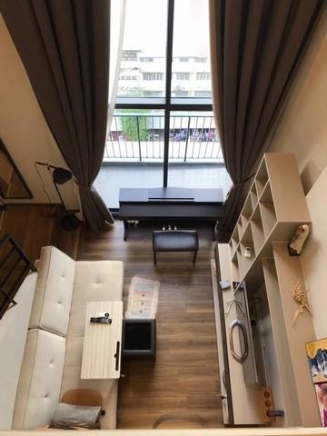 ขายคอนโดสะพานควาย จตุจักร : ขายด่วน ห้องสวย  ONYX by Sansiri ใกล้ BTS สะพานควาย** Duplex 1 ห้องนอน ขนาด 43.2 ตร.ม. วิวเมือง