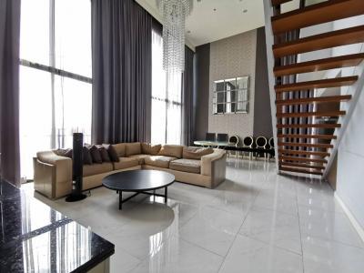 ขายคอนโดลาดพร้าว เซ็นทรัลลาดพร้าว : ขาย คอนโด Duplex 3 ห้องนอนสุดหรู แห่งเดียวบนถ. ลาดพร้าว The Issara Ladprao