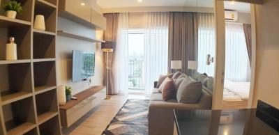 For RentCondoBang Sue, Wong Sawang : Condo for rent at Amber, next to the Tiwanon BTS station Bangkok - Non Road