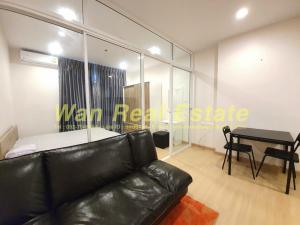 For RentCondoSathorn, Narathiwat : For rent, Supalai Lite, Ratchada Narathiwat, Sathorn, size 35 sq.m., 17th floor, new room, fully furnished.
