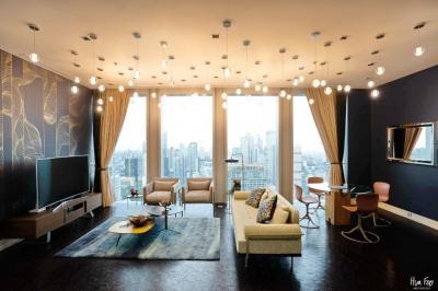 เช่าคอนโดสาทร นราธิวาส : 2 Bedrooms Pet Friendly // The Ritz Carlton Residences// 147 Sq.m