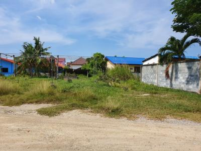 For SaleLandChonburi, Pattaya, Bangsa : Beautiful land, good location, 1 rai 1 ngan 35 Sq. Nong Prue, Bang Lamung, Chon Buri