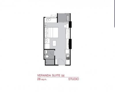 ขายดาวน์คอนโดรามคำแหง หัวหมาก : ขายดาวน์ Supalai veranda รามคำแหง ห้องสวย ชั้นสูง 2.01 ล้าน ตึกC