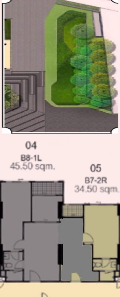 Sale DownCondoSiam Paragon ,Chulalongkorn,Samyan : Sell capital, 3 bedrooms, 80 sqm, twin room, perforate, the cheapest price, 13x, xxx per sqm, long view garden view