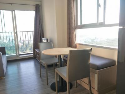 For RentCondoSamrong, Samut Prakan : For rent The Trust Condo Bts Erawan 10,000 / month.