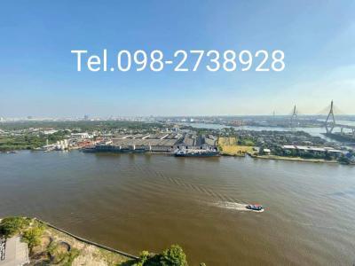 For RentCondoRama3 (Riverside),Satupadit : ให้เช่าคอนโด เดอะพาโน พระราม 3 ราคาเช่า28,000/เดือน