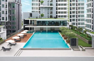 For SaleCondoOnnut, Udomsuk : The sky premium condominium Perfect experiences live with fully facilities by next to Bangkok MallSpecial deal for room 30.56 sqm Original current cost 4.2 mb by PF, but only 1 unit left with hot deal only 2,800,000.- baht 🎁👍#AAA#Better all if transfer
