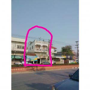 For SaleShophouseSukhothai : Sell ​​commercial building with land.
