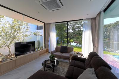For SaleHouseChiang Mai, Chiang Rai : 164 sqw Luxury Perfect Home Chiang mai House for sale Hangdong with swimming pool 19.89 MB - New House