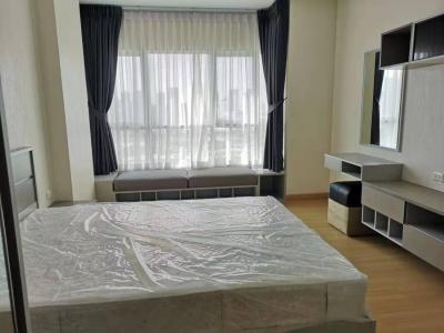 เช่าคอนโดพระราม 9 เพชรบุรีตัดใหม่ : ให้เช่า Supalai Veranda Rama 9 1 นอน เฟอร์ครบ พร้อมอยู่ 42 ตรม ชั้น 21