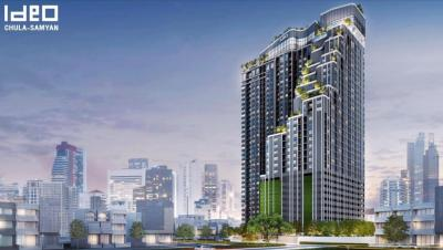 Sale DownCondoSiam Paragon ,Chulalongkorn,Samyan : Ideo Chula-Samyan 28.5 & 34.5 sq.m. There are many rooms to choose from. All rooms, the first price, the most discounts
