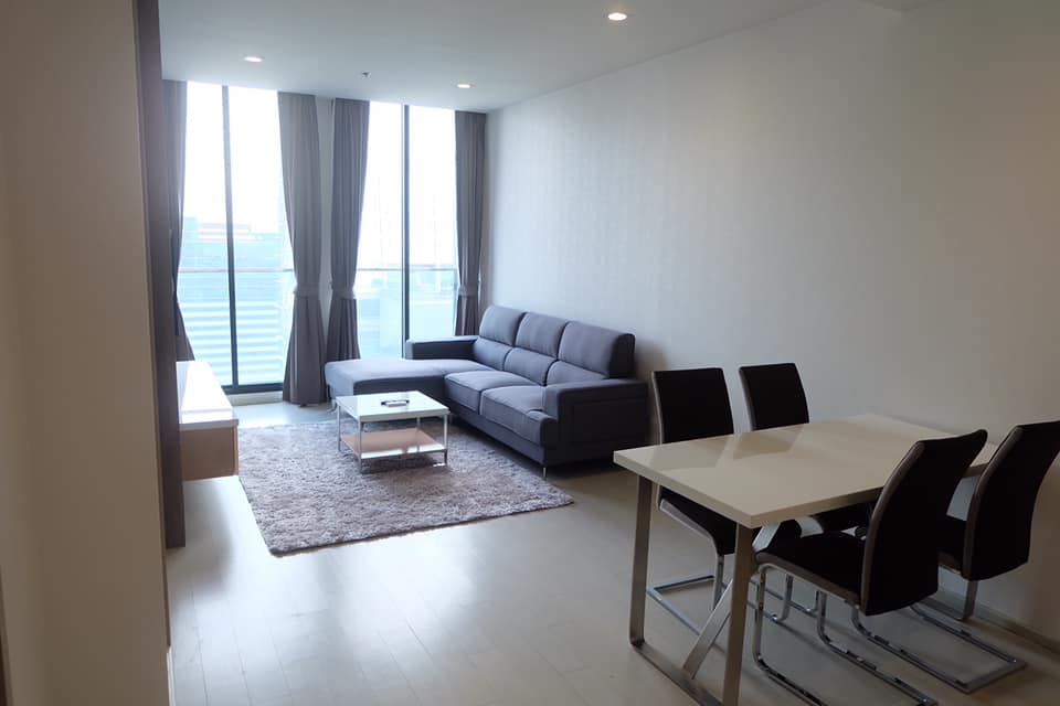 For RentCondoWitthayu,Ploenchit  ,Langsuan : Noble Ploenchit 1 BR. for Rent (Close to Ploenchit BTS Station.)