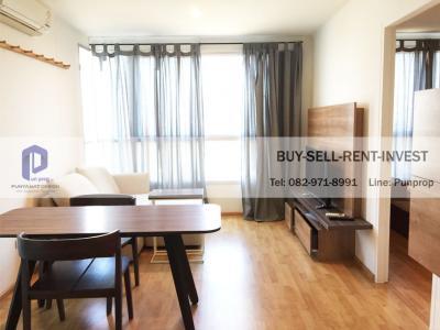 ขายคอนโดพัฒนาการ ศรีนครินทร์ : ขายคอนโด U Delight Residence พัฒนาการ-ทองหล่อ 35 ตรม. ชั้น 9 ทิศตะวันออก เฟอร์ครบ 3.3 ล.