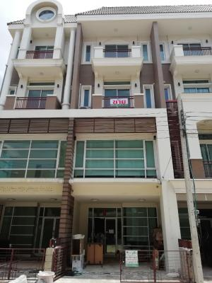 For SaleHome OfficeLadprao101, The Mall Bang Kapi : Home office / townhome 4-storey for sale Lat Phrao just renovated, ready to use, Premium Place 4-storey project, 300 sq m, Pho Kaeo, Ladprao 101, Finger Print Door Lock and CCTVLock.