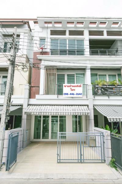 For SaleTownhouseYothinpattana,CDC : House for sale, Urbanion Rama 9 - Ladprao, 3-story townhome with good location