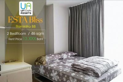 For RentCondoNawamin, Ramindra : For Rent Esta Bliss Ramintra Unit 126/159