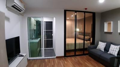 """เช่าคอนโดอ่อนนุช อุดมสุข : ห้องสวยมาก!! ที่ รีเจ้นท์ โฮม สุขุมวิท 81 คอนโดใกล้ BTS อ่อนนุช """"ห้องมีเครื่องซักผ้า"""" พร้อมอยู่"""