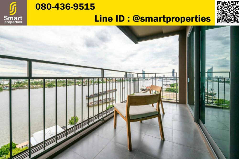 For SaleCondoRama3 (Riverside),Satupadit : ** Waterfront room for sale ** U Delight Riverfront Rama3, very divine view, Riverfront room, rare location, full view of Chao Phraya River, 14th floor Very wide balcony, size 91 sqm., 2 bedrooms, 2 bathrooms, 13 million
