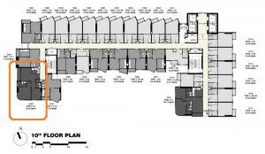 ขายดาวน์คอนโดพระราม 9 เพชรบุรีตัดใหม่ RCA : 🔥เจ้าของขายดาวน์🔥 ห้อง 2 Bed ขนาด 56 ตร.ม. ชั้น 5 และ 10 ราคาถูกสุดรอบ VVIP rare unit วิวเมืองและได้กระจกโค้งในห้องนอน ทั้งโครงการมีห้องแบบนี้แค่ 1 ห้องต่อชั้น