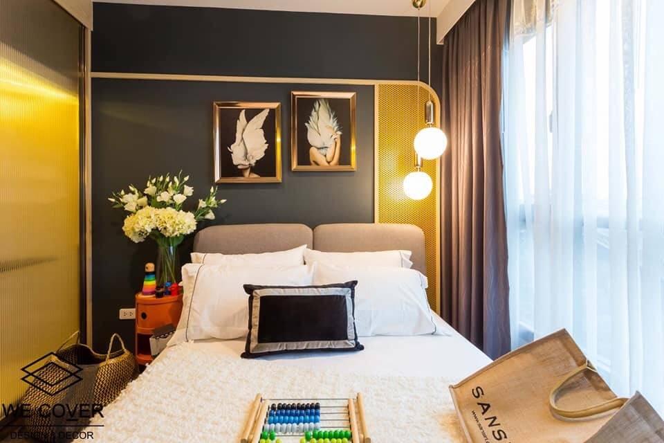 For SaleCondoOnnut, Udomsuk : +++ Quick rental +++ The Base Park West, beautiful decoration, 1 bedroom, 29.78 square meters