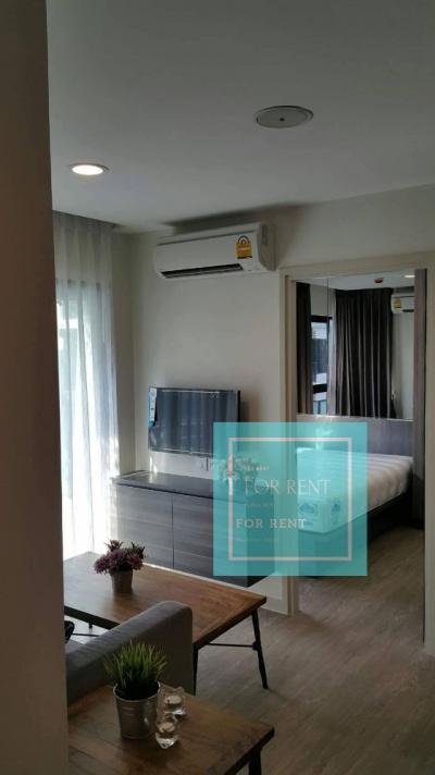 For RentCondoBangna, Lasalle, Bearing : For rent Villa Lasalle, Building A, Floor 7, size 35 sqm.